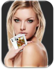 femme blonde cartes